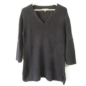 Tommy Bahama Black Knit V-Neck Sweater